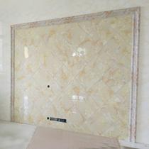 Pierre en plastique ligne imitation marbre salon fond TV murale barre de cadre décoratif cadre carreaux taille ligne européen porte ligne réglée