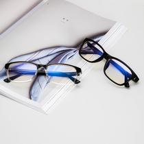 防辐射眼镜女平光镜圆框复古男无度数抗蓝光手机电脑护目眼睛近视
