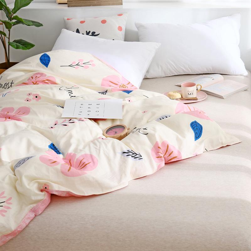 南极人全棉被套单件女学生单人套宿舍1.5米床纯棉被罩双人200x230