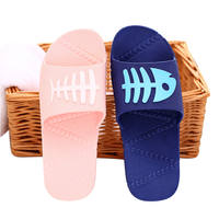 Home slippers female summer 2019 new non-slip indoor home bathroom shower ladies sandals and slippers men summer