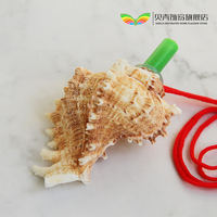 Conch shell whistle conch horn blowing conch shell crafts whistle toy factory direct children's gift