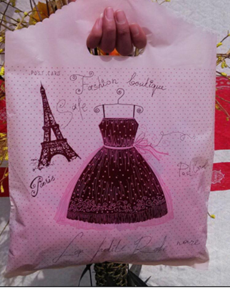 包邮方便袋礼品袋袋塑料袋胶袋手提袋小号饰品袋子批发一包100个
