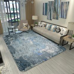 绣奈丝 创意涂鸦图案欧式大地毯客厅卧室北欧茶几沙发房间床边毯