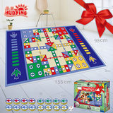 Huaying flying chess game mat children's parent-child game Blanket Toy Puzzle hands-on desktop game birthday gift