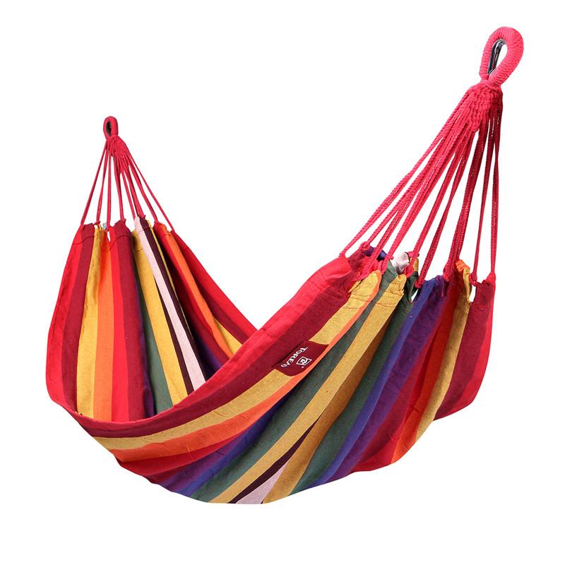 彩条帆布吊床