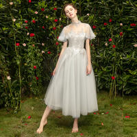 Bridesmaid dress in the long section 2019 new fairy temperament evening dress skirt female sister group was thin host pink spring