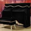 钢琴罩金丝绒