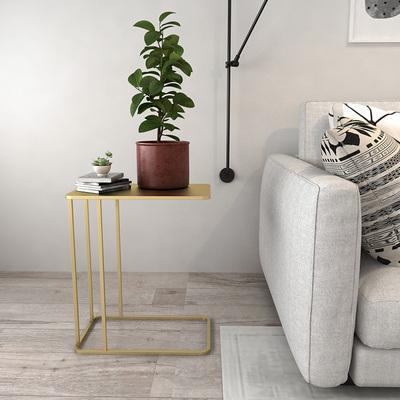 北欧沙发边几角几茶几现代简约小户型移动床头桌创意铁艺边桌边柜哪里购买