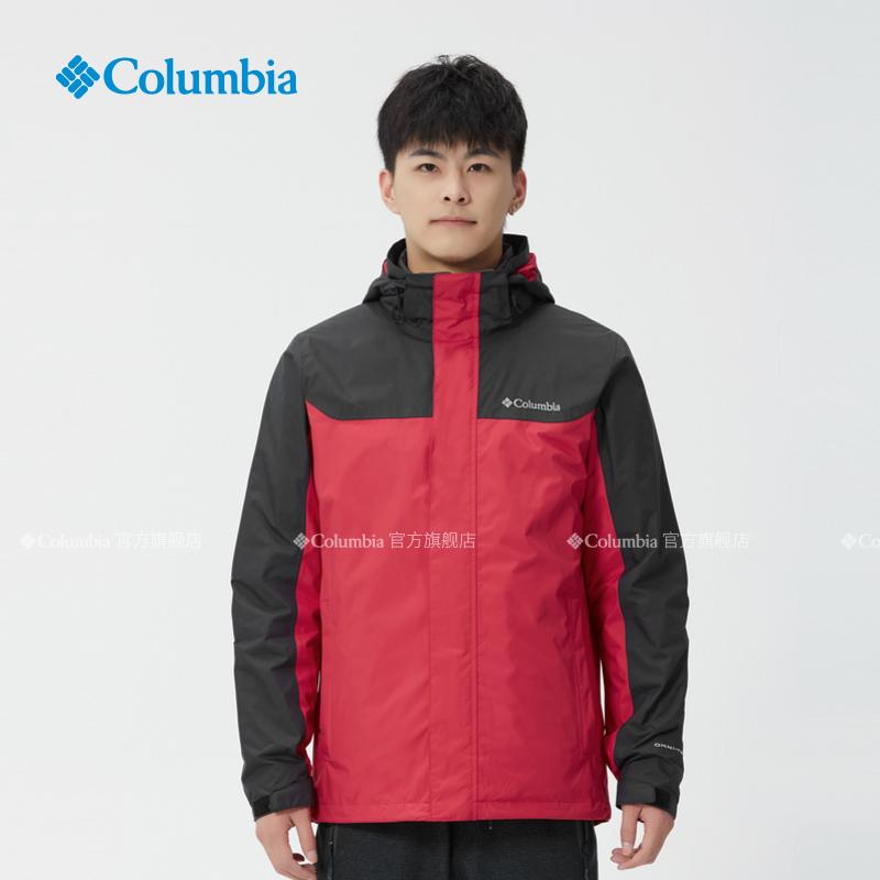 Columbia哥伦比亚户外新品秋冬男热能防水羽绒三合一冲锋衣PM1339