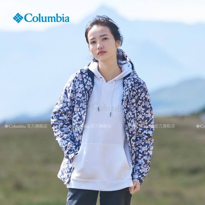 Columbia哥伦比亚户外20春夏新品女专业户外奥米防水冲锋衣RR1030