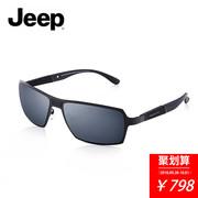 JEEP吉普太阳镜户外登山运动男士眼镜高尔夫钓鱼J钛偏光墨镜T6219
