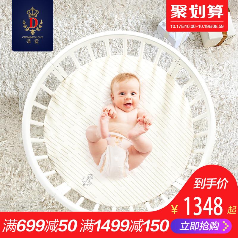 婴儿床木床
