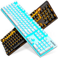Black Jue Wars game real mechanical keyboard green axis black axis red axis tea axis desktop computer notebook esports wired 104 key home Internet cafes Internet cafes eat chicken lol peripherals network red special keyboard