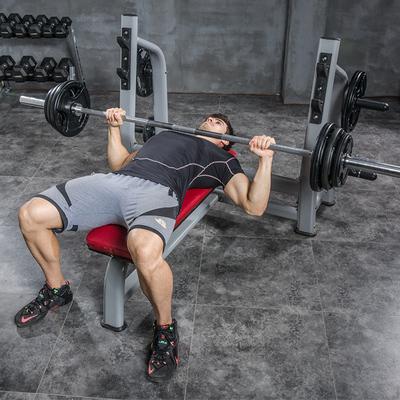豫龙商用型举重床卧推架杠铃床杠铃凳杠铃套装健身杠铃架健身器材新品特惠