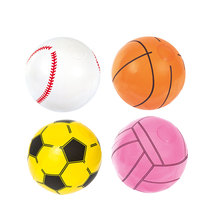 Basket-ball gonflable football volley-ball baseball balle de plage épaisse balle de plage balle gonflable balle DEau Jouets deau