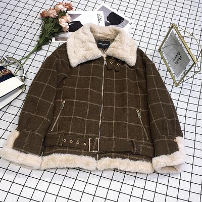 2018年新款冬装上衣韩版宽松加厚棉衣保暖外套女ZB85002