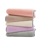 Wendy high density coral velvet wipe towel home adult unisex super absorbent no lint soft thickening