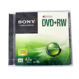 SONY Sony rewritable disc dvd rw disc rewritable disc blank disc boxed