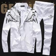 2017春季新款男士卫衣韩版休闲运动一套装男学生青年外套全套潮流