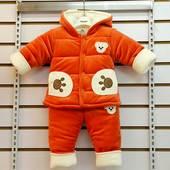 男女宝宝冬季棉衣加厚棉衣保暖棉袄外出服饰一周岁1岁2岁婴儿衣服