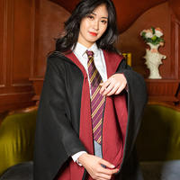 Harry Potter Magic Robe School Uniform Cloak Cosplay Academy Clothing Hermione College Clothes Slytherin