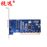 Vision 4 channel PCI video capture card four-way monitor card HD support XP WIN7 32/64 bit