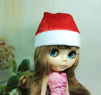 Intriguing DIY Handmade 4 ultra-small mini dolls with Christmas hats Props 4 points and 6 points baby cloth OB