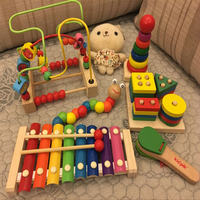 Infant children hand knock on the piano 8 months octave small xylophone boy female baby puzzle music toy 1-2-3 years old