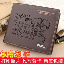 日本插画KINE猫可爱花朵猫棉布帆布艺女零钱包日本财布短款钱包