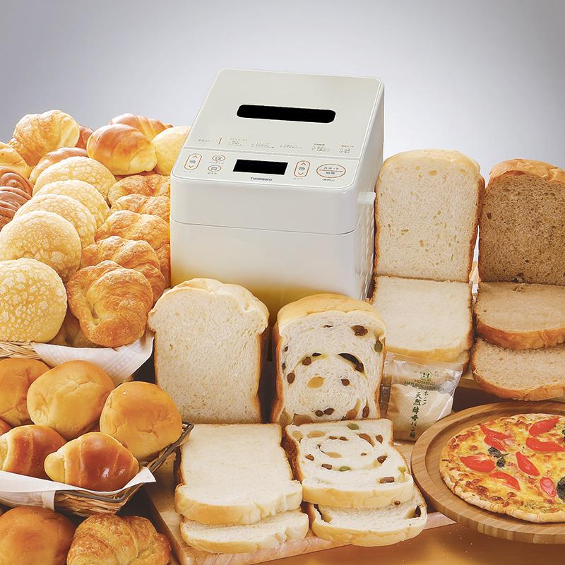 日本双鸟PY-D539面包机家用全自动智能小型多功能揉和面早餐特价