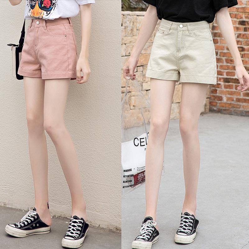 韩版彩色短裤