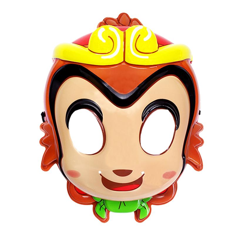儿童玩具幼儿园表演面具西游记孙悟空面齐天大圣3-5岁小宝宝男孩