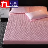 床笠单件加厚夹棉1.5 1.8m床罩席梦思保护套防尘罩床垫套床套防滑