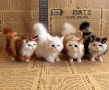Simulated cats will call for money to display gifts for girlfriends to marry creative DIY home installation living room decorations