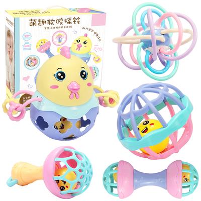 嬰兒童玩具搖鈴3-4-5-6-7-8-9-10-12個月0-1歲益智女寶寶男孩女孩