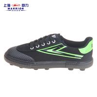 回力帆布足球鞋男女情侣款人造草地软底足球训练鞋胶钉回力运动鞋