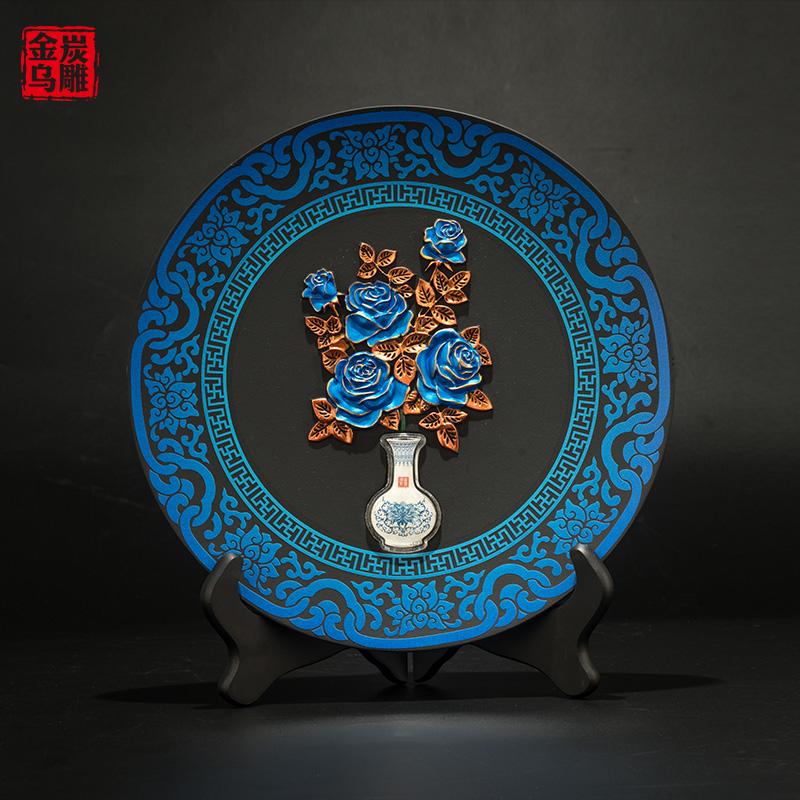 Изделия из углепластика / Декоративные тарелки Артикул 562308122808