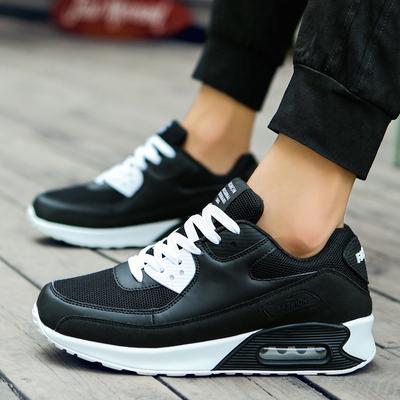12初中学生男鞋子15岁13大童男孩内增高运动鞋气垫板鞋秋季14跑鞋