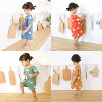 Baby pajamas spring and autumn baby robe cotton 1 thin section 3 years old children nightdress girls boys summer one-piece bathrobe