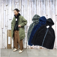 18 Winter New Fashion Men's Flannel Hat Guard Thickened Heating Lamb Wool Card Loose Leisure Coat