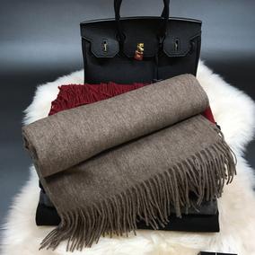 非凡气质欧美高档好货冬优质牦牛绒水波纹加厚保暖围巾女披肩两用
