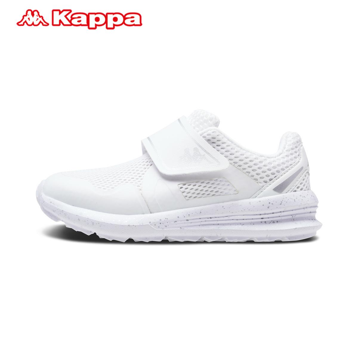 KappaKids卡帕童装KAPPA童装男女童休闲运动鞋背靠背轻质透气跑鞋