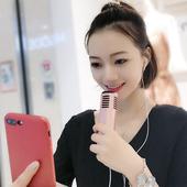安卓通用苹果全名录音全能家用耳机直播设备全套 F1声卡唱歌手机专用全民k歌神器电容麦克风话筒主播套装图片