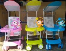 夏季婴儿推车透气超轻便携折叠宝宝手推车小孩座椅竹藤童车夏天凉