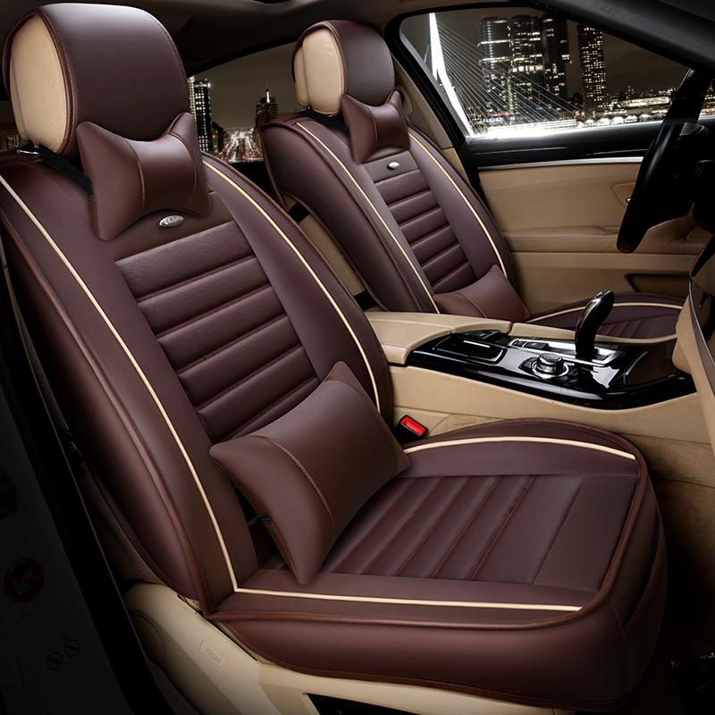 汽车用品新款全皮四季通用全包围汽车坐垫