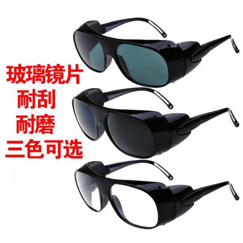 平光强光防风眼镜变色电弧墨镜防紫外线护眼电焊工保护专用镜飞溅
