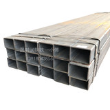 50x100 cold-hot galvanized square pipe 50x50 hot-rolled Q235 black iron rectangular pipe 40x60 square pass