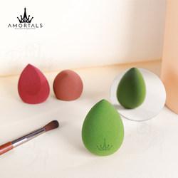 韩国AMORTALS尔木萄美妆蛋不吸吃粉粉扑海绵化妆彩妆蛋葫芦三个装