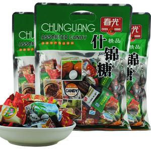 海南特产 春光什锦糖300克X3袋 各种糖果零食软糖 多种口味随心搭