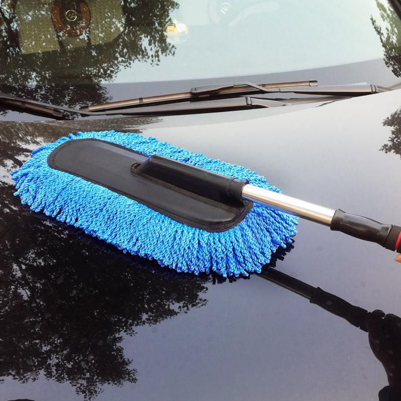 洗车套装伸缩拖把长柄刷工具家用汽车清洁用品组合水桶擦车巾水蜡